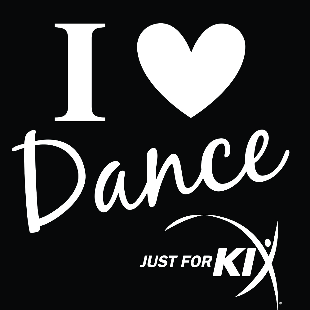 I Love Dance Window Decal- CS24 Image