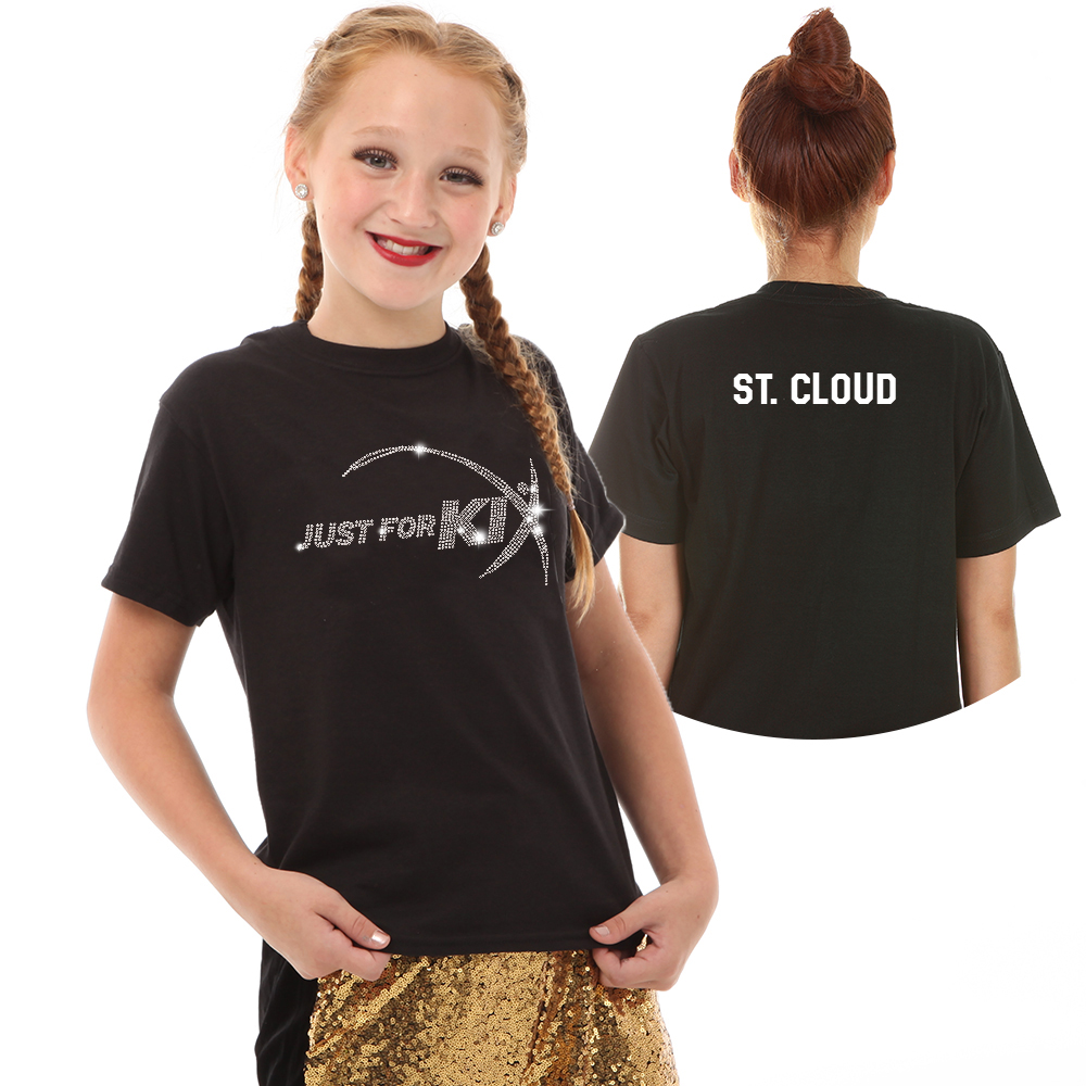 Just For Kix Sequin Dance T-Shirt- CS19 Image