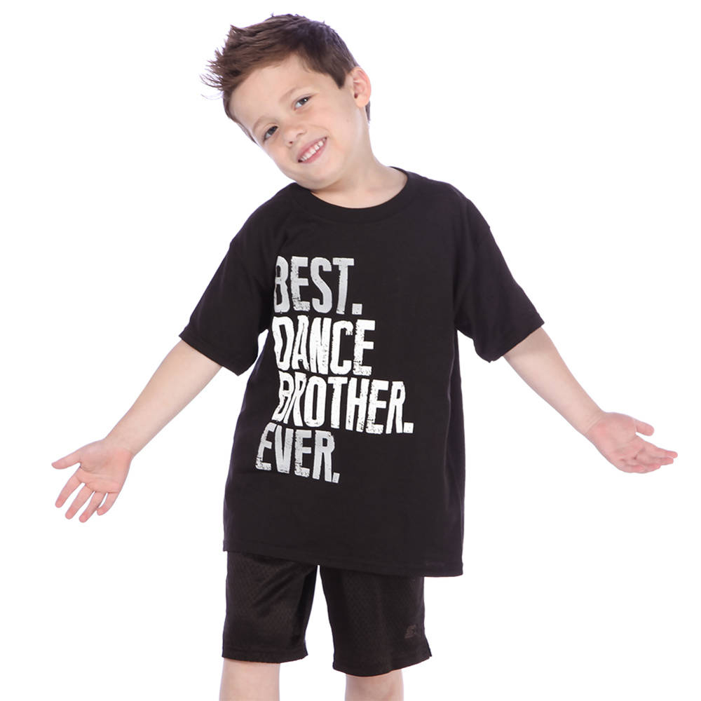 Best Dance Brother Ever T-shirt- JFK-592 Image