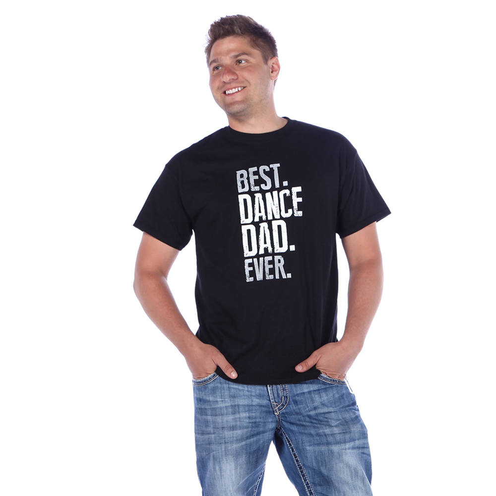Best Dance Dad Ever T-shirt- LD1225 Image