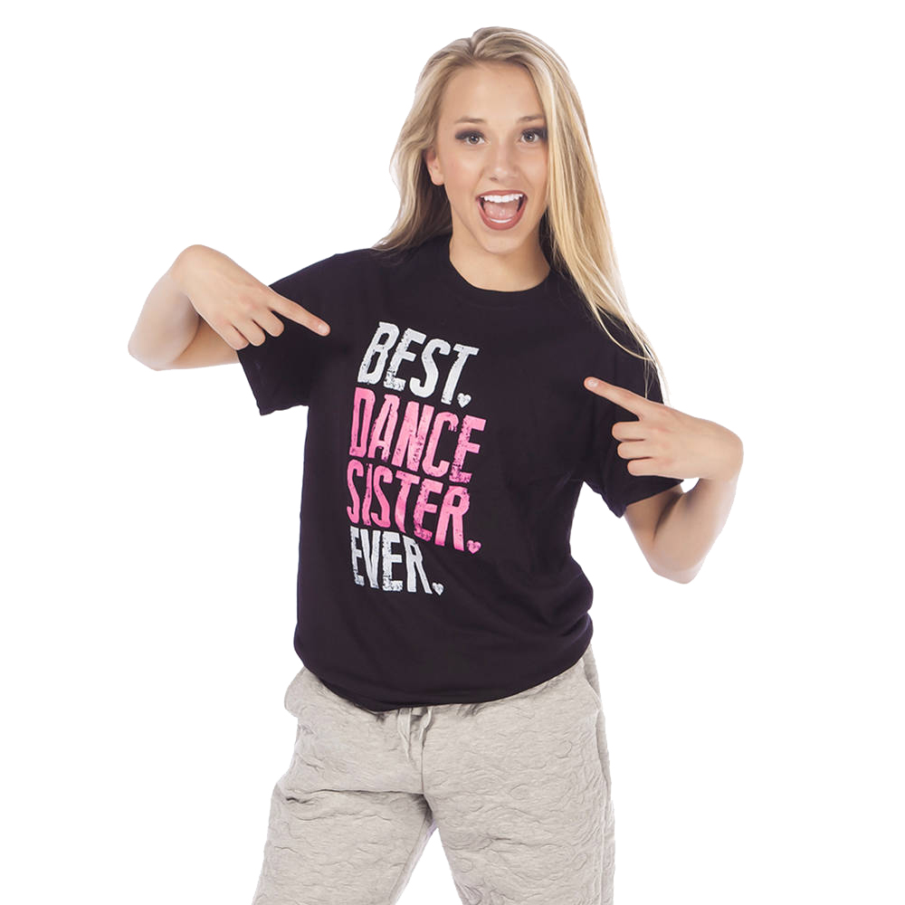 Best Dance Sister Ever T-shirt- LD1221 Image