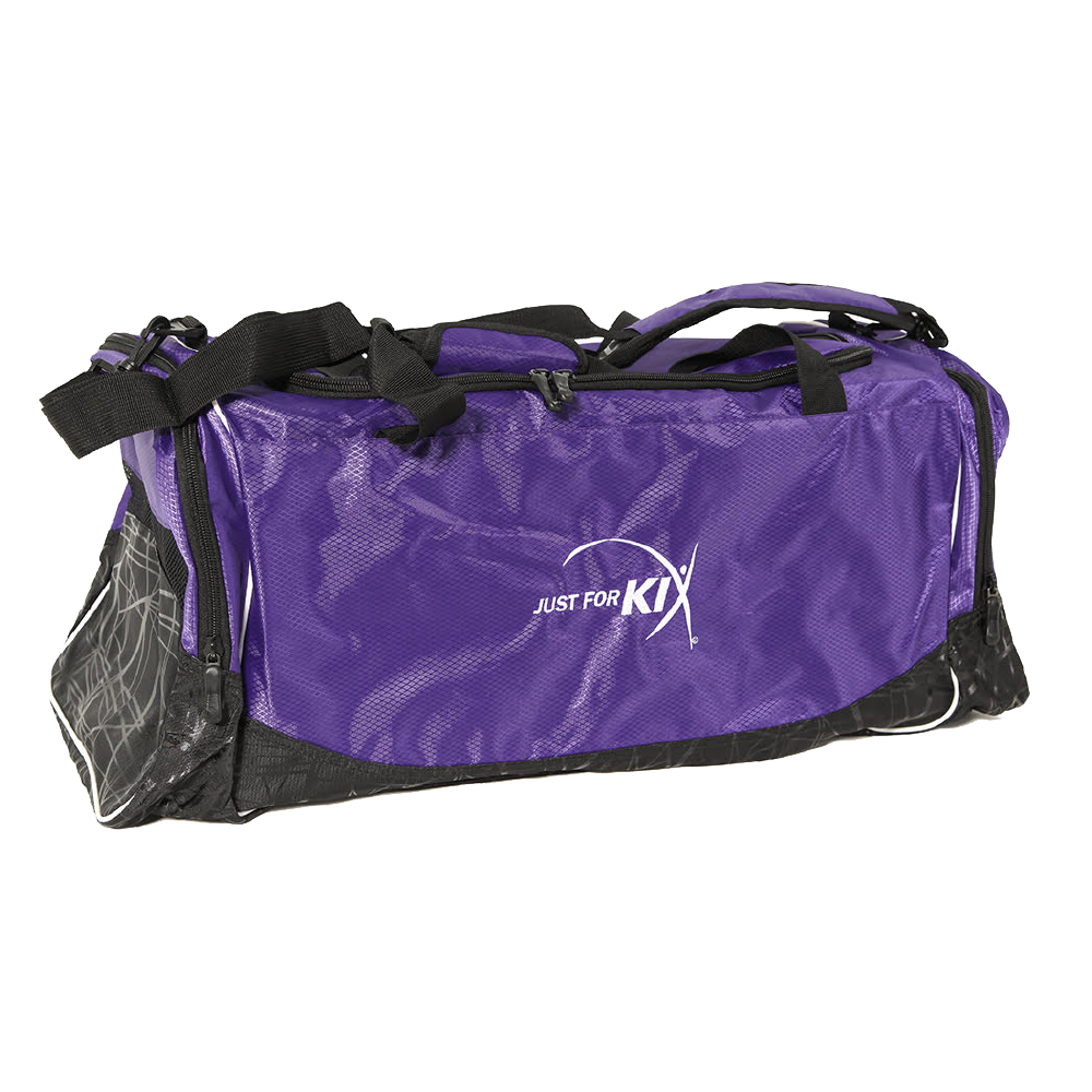 Purple JFK Duffel Bag- CS27 Image