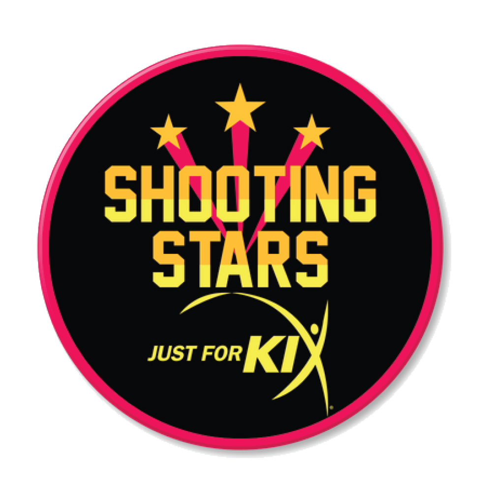 Shooting Stars Patch Poster